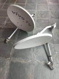 Antena sky parabólica digital