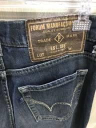 Calça jeans masculina, fórum, tamanho 42, perfeito estado