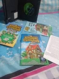 Animal Crossing Gamecube c/ memory card