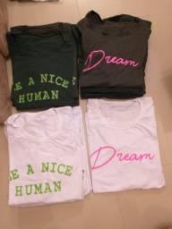 Camisetas e calcas