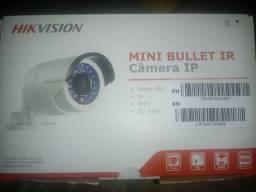 Câmera hikvision mini bullet