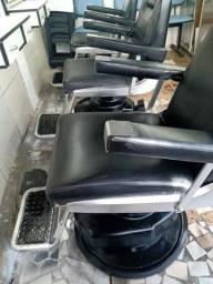 Cadeiras Takara Belmonte para salão ou barbearia
