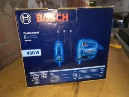 Serra tico tico Bosch 450w nova
