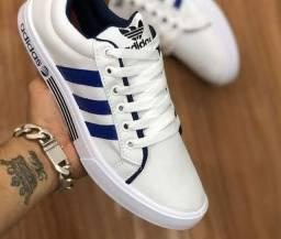 Sapatênis adidas White Blue