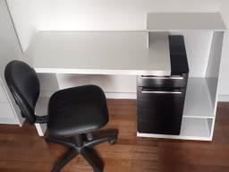 Conjunto Escrivaninha + Cadeira de escritório