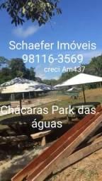 Chácaras Park das Aguas com parcelas fixas R$400,00