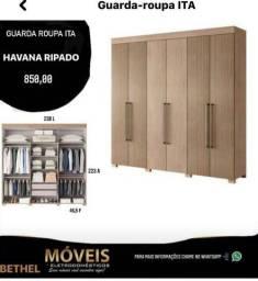 Guarda roupa Havana Ripado