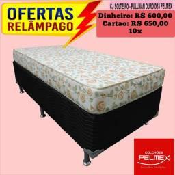 Entrega grátis de Conjunto de Solteiro Pelmex D33