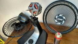Lavagem em geral no seu ventilador