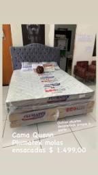 Promoção cama Quenn plumatex 10 últimas unidades 1.499,00 molas ensacadas individual
