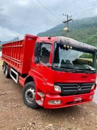 Mercedes Atego 2425 caçamba agrícola nova