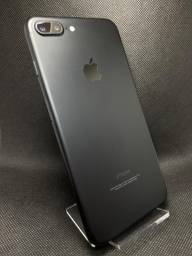 IPhone 7 Plus preto matte 32Gb