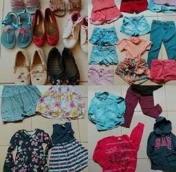 Desapego de roupas e calçados vestem 6/8 e calçam 27 ao 29
