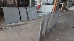 Prateleiras de aço reforcado
