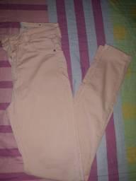 Calça jeans rosé 20 reais