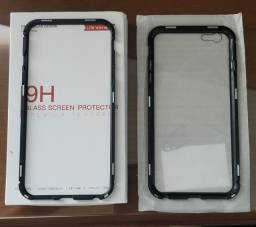 Case Magnética + Película De Vidro iPhone 7 Plus