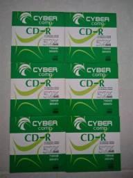 Mídia Gravável CD-R 700MB/80min. CYBER