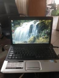 Notebook Compaq Pentium dual core
