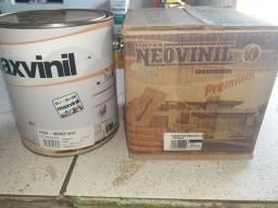 Combo ( 1 tinta 3,6 maxvinil + 1 massa pva 5kg) na Cuiabá tintas  - para retirar na loja