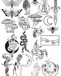 Tattoos flash - tatuagem