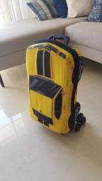 Mochila Carro Camaro amarelo MaxToy