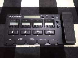Vende-se Pedaleira Zoom G5n + Fonte Original Bi-volt