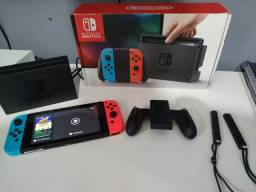 Nintendo Switch na Caixa
