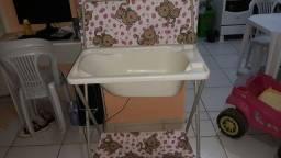 Vendo banheira com trocador