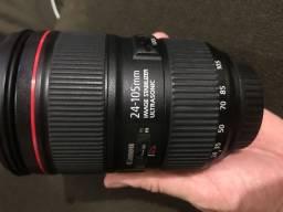 Vendo lente canon 24-105mm