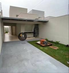 Linda casa no Vale do Sol com área gourmet com pia e churrasqueira