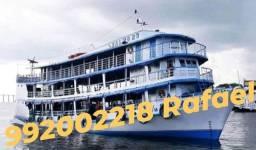 Vendo embarcações, ferryboat, lanchas