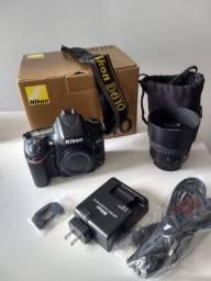 Câmera Profissional - Nikon D610 c lente 50mm
