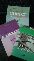 Livros: o poder do querer; Perdão e a amizade