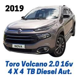 Fiat Toro Volcano 2.0 Turbo Aut. 4X4 9 Marchas 2019