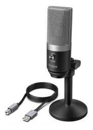 Fifine K670 Prata - Seminovo Microfone condensador USB