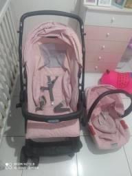 Conjunto carrinho + Bebê Conforto