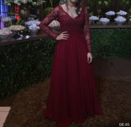 Vestido de festa alta costura