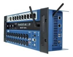 Mesa de som Digital Soundcrafter UI24r em 12x Sem Juros ( NOVO )