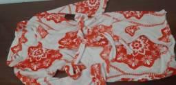 Roupão e pijamas