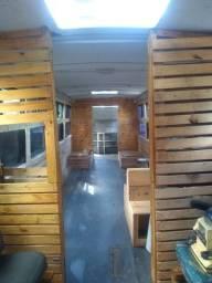 Ônibus Lanchonete móvel