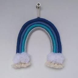 Arco íris tons de azul