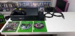 Xbox one fat 500GB semi novo funcionando perfeitamente entrega e parcela até 12x