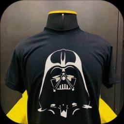 Camisa Star Wars Darth Vader - pintura à mão