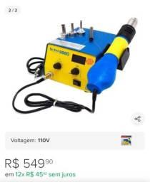 Estação de solda Soprador 110 volts