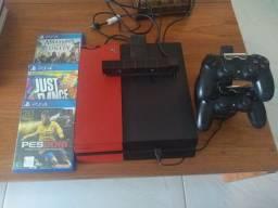 PS4 500gb Completo + Conta PS Plus