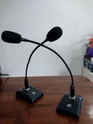 Microfone de mesa