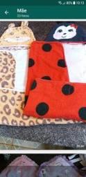 Cobertas mantas lençoes fronhas toalhas
