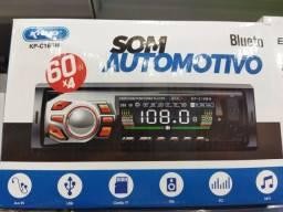 Som Automotivo bluetooth<br><br>60w *4