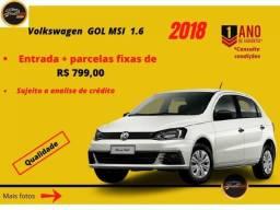 Volkswagen Gol MSI TRENDLINE 1.6 2018