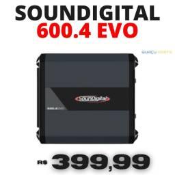Oferta! Ampl. Modulo Soundigital Sd600.4d